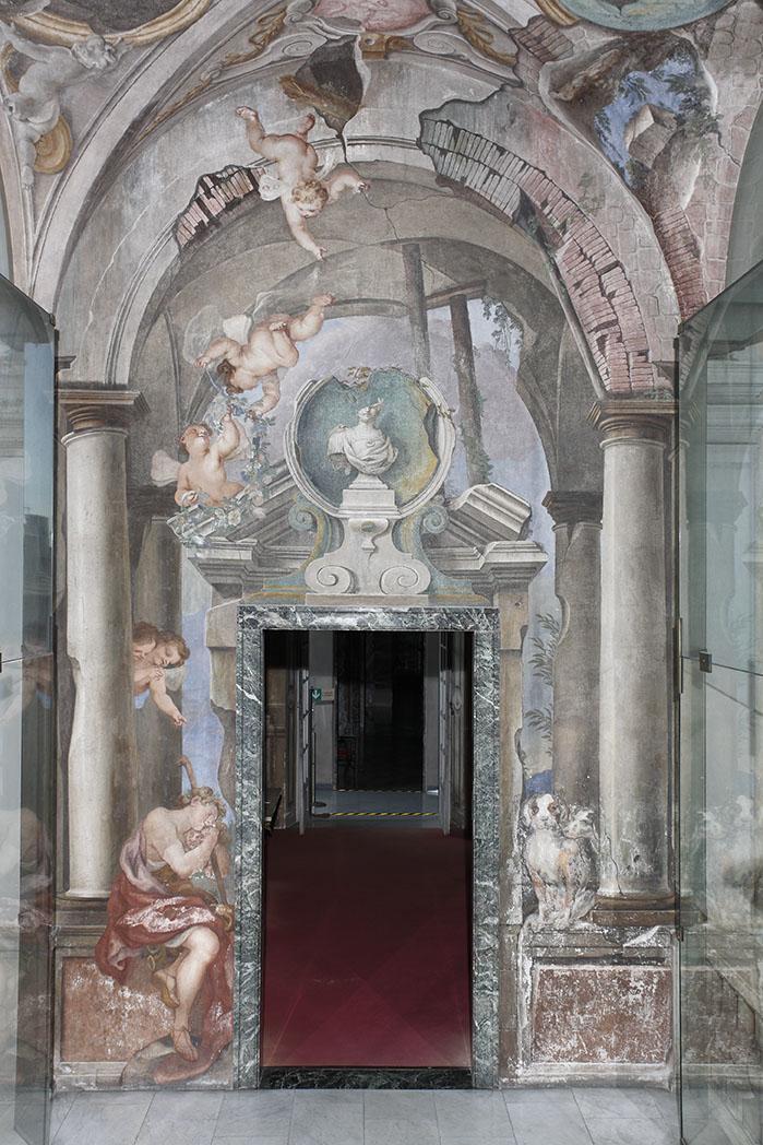 Decorazione Delle Pareti Opere Darte : Restauro di intonaci decorati affreschi stucchi